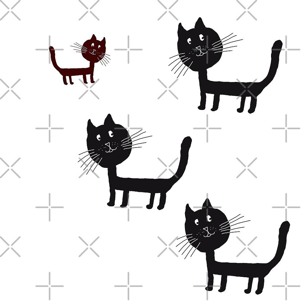Happy Cat by Manitarka