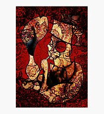 Behemoth With Pipe and Wine ~ (Paisley Version) Photographic Print