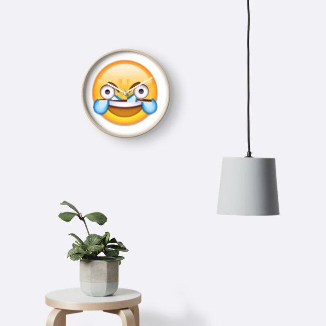 Open Eye Crying Laughing Emoji by upthecreek90