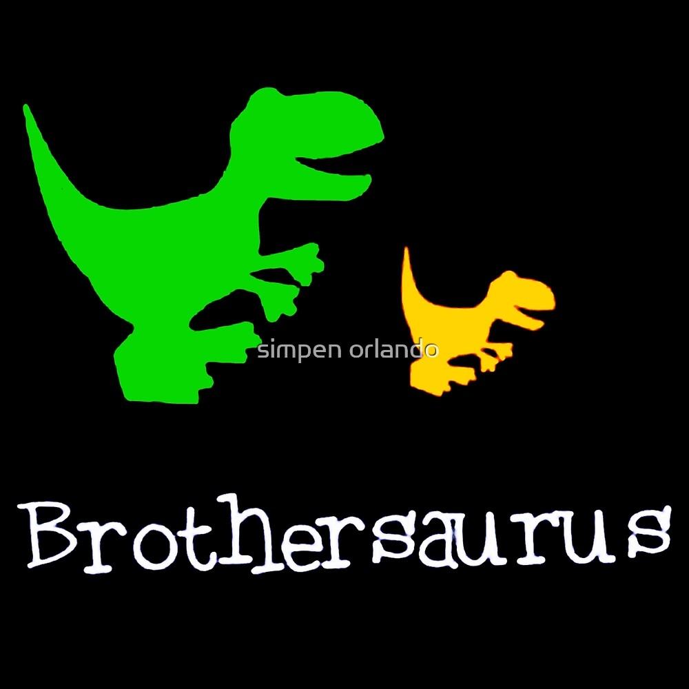 Brothersaurus by simpen orlando