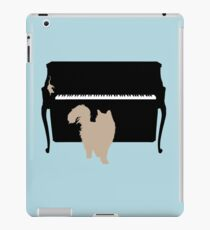 Cat and Mouse on Piano iPad Case/Skin