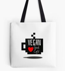 Vegan Geek et Café Tote Bag
