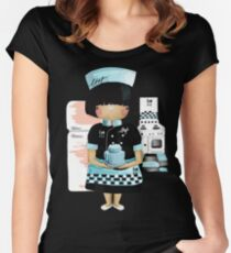 The Little Chef Women's Fitted Scoop T-Shirt