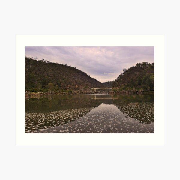 Morning at Cataract Gorge Art Print