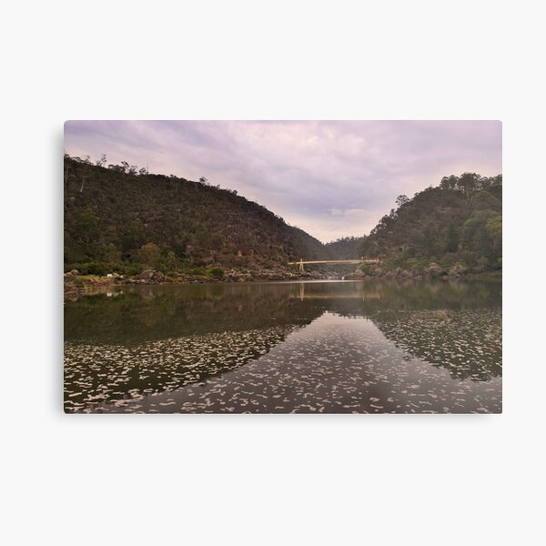 Morning at Cataract Gorge Metal Print