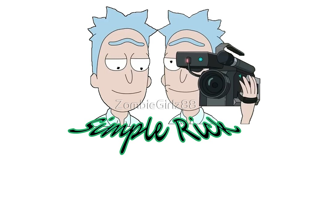 I'm Simple Rick!! by ZombieGirlz88
