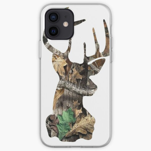 Camo Deer Head iPhone Soft Case