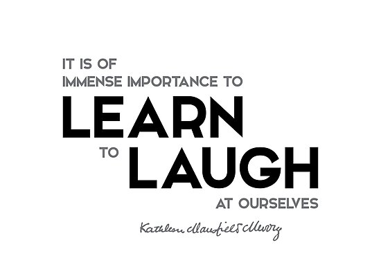 learn to laugh - katherine mansfield by razvandrc