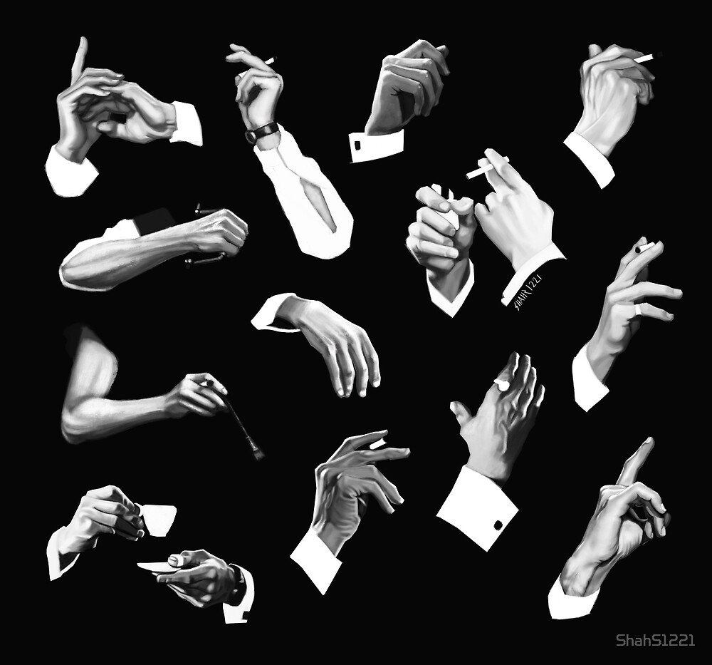 Peter Cushing's Artist Hands by ShahS1221