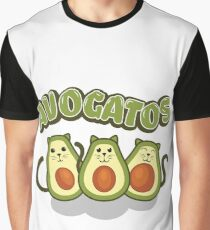 Avocado Gifts > Funny Avocado Cats > Avogatos > Avocado Graphic T-Shirt