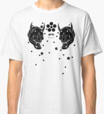 black hannya and cherry blossoms Classic T-Shirt
