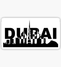 Dubai Silhouette Sticker
