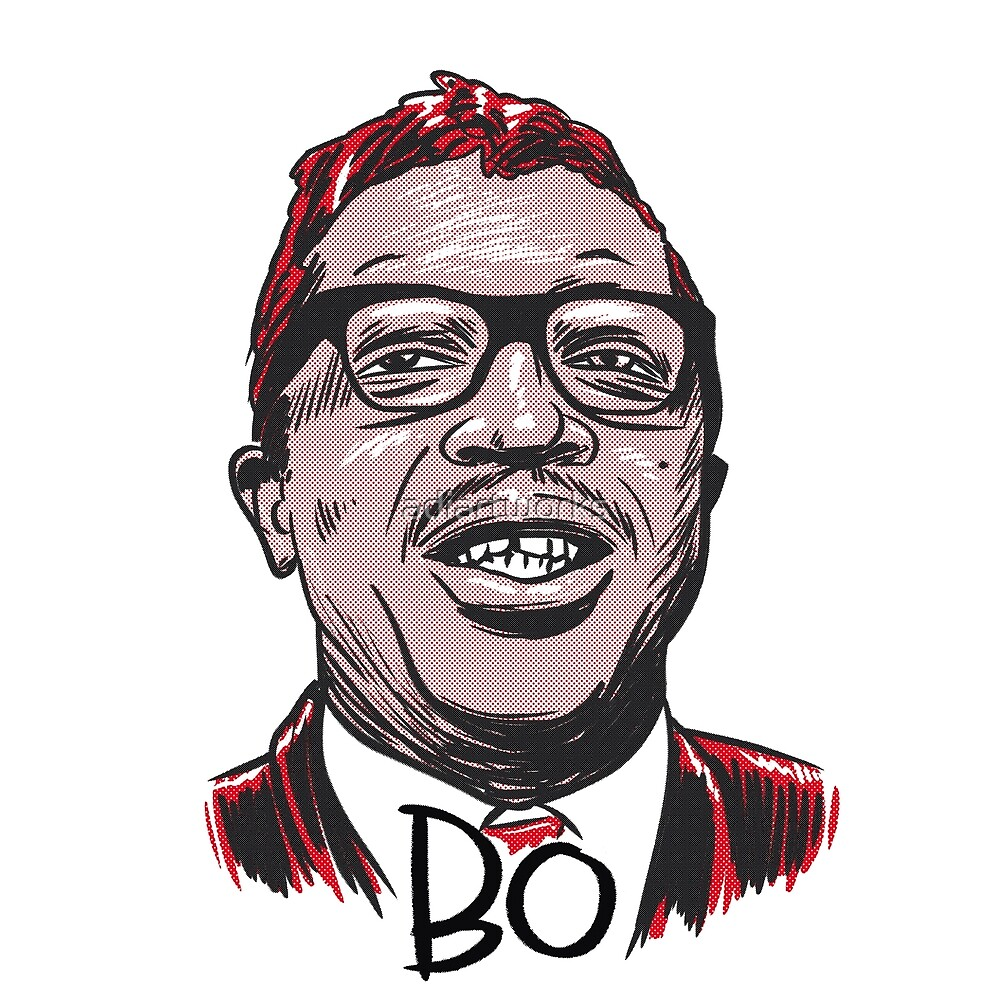 hey bo diddley! by adiartworks