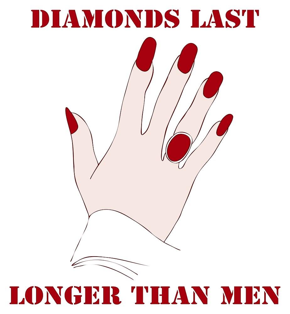 Diamonds Last Longer Than Men by illustrateme