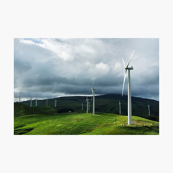 Te Apiti Wind Farm No. 1 Photographic Print
