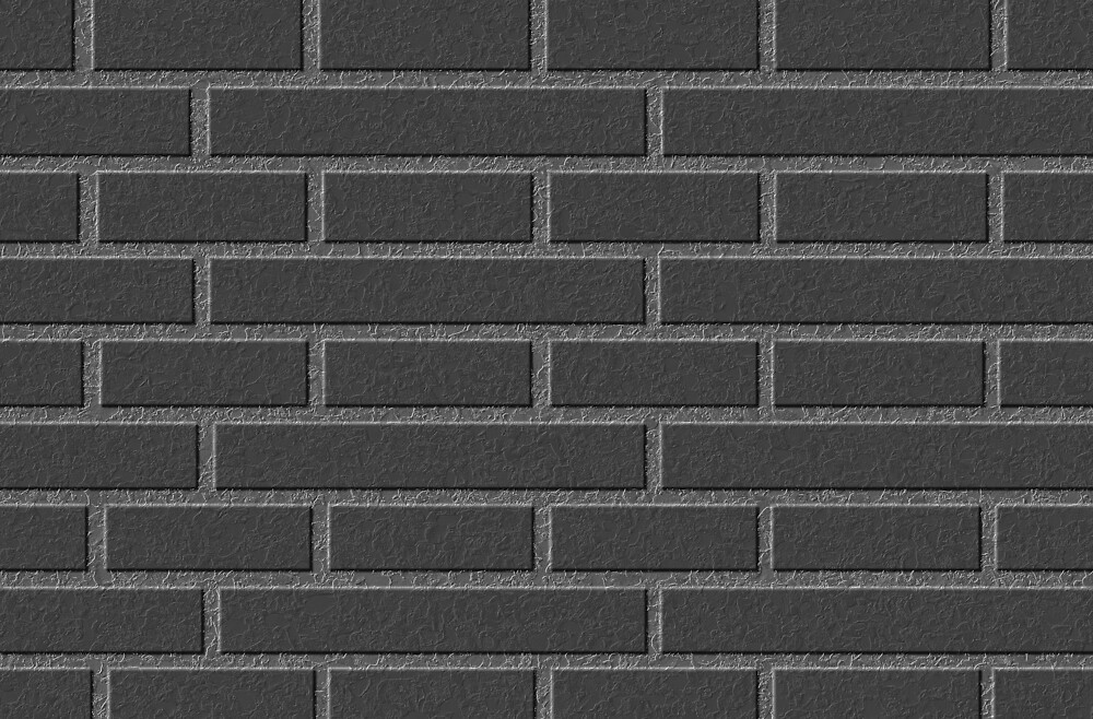 Black brick wall by OllegNik