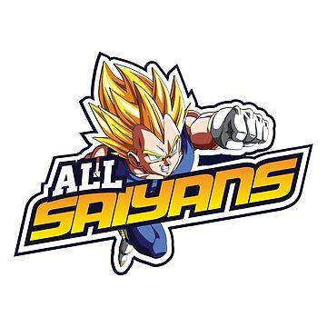 All Saiyans All Stars by KITTYHAWK
