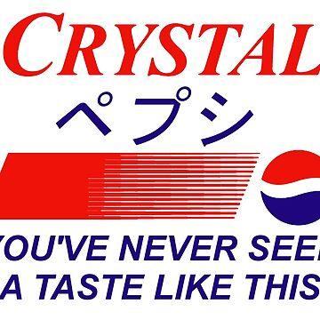 Crystal Pepsi Logo Japanese by gregGgggg