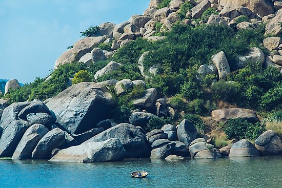 The boatman from Hampi by soytribu