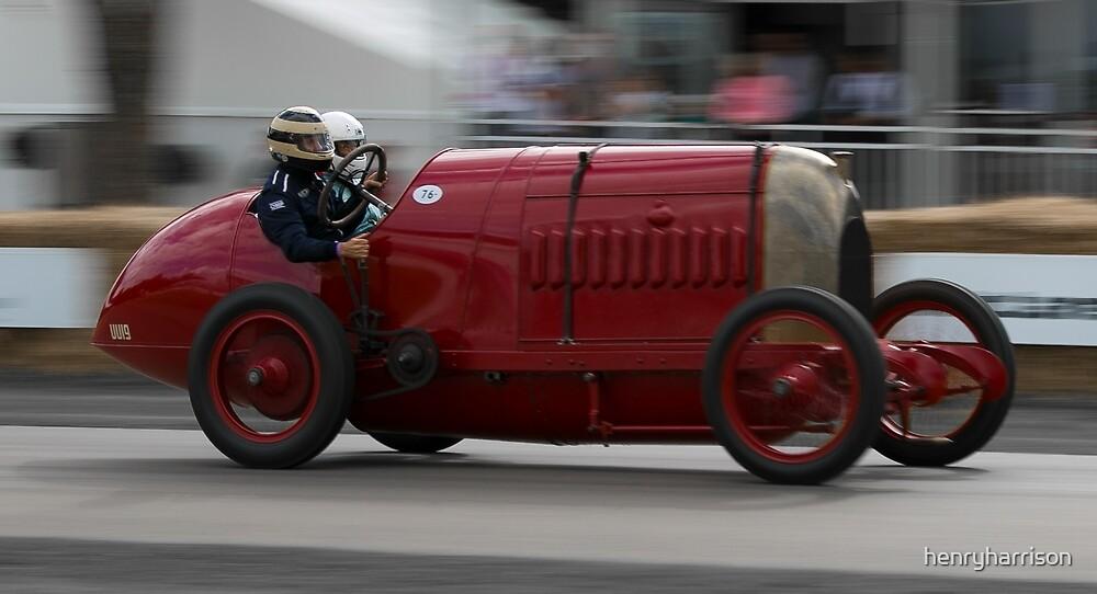 Vintage Racing Car by henryharrison