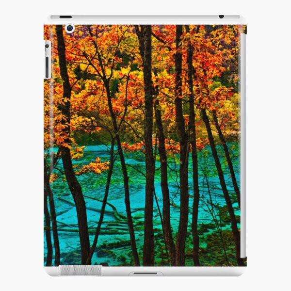 Autumn, Jiuzhaigou Valley 秋臨九寨沟 iPad Snap Case
