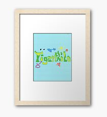 2313 - Tigerthilo Design Green Grass Style Framed Print