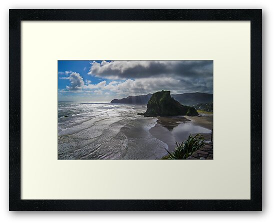 Piha Beach, New Zealand by allthingsnz