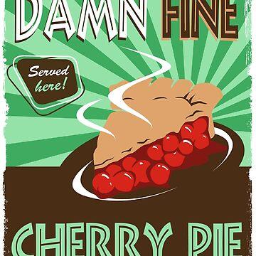 Damn Fine Cherry Pie - Peaks by goofyfootartist