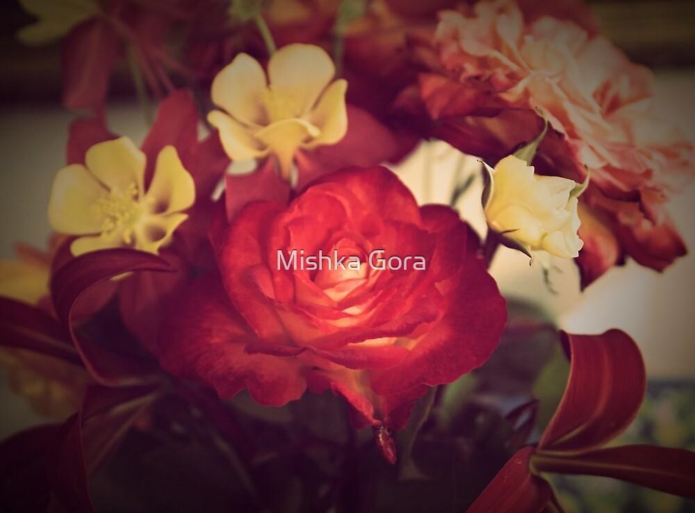 Vintage Rose by Mishka Gora