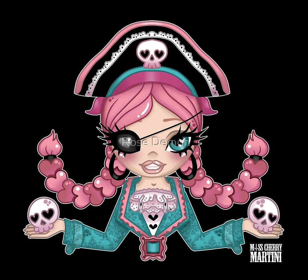 P is for Pirate by Miss Cherry  Martini