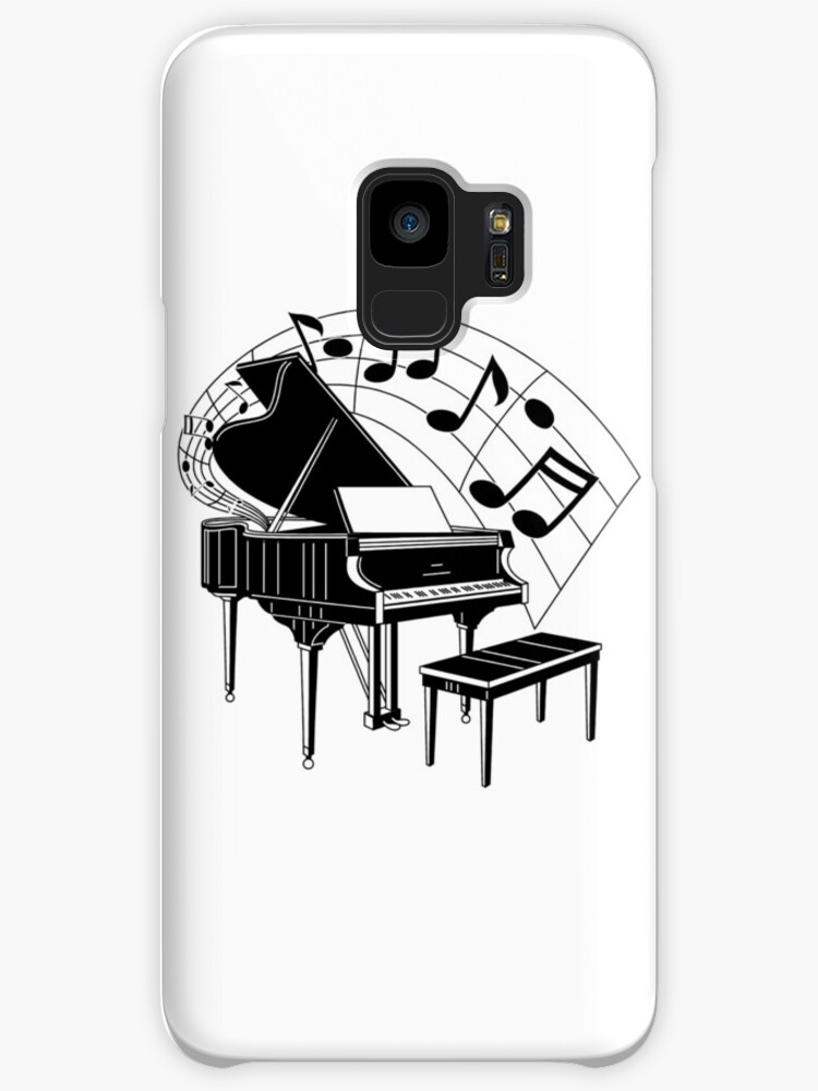 Black and White Piano by Julie7526