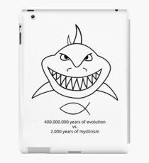 Evolution vs. Mysticism iPad Case/Skin