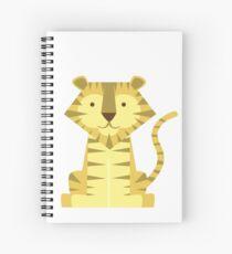 animals set - tiger Spiral Notebook