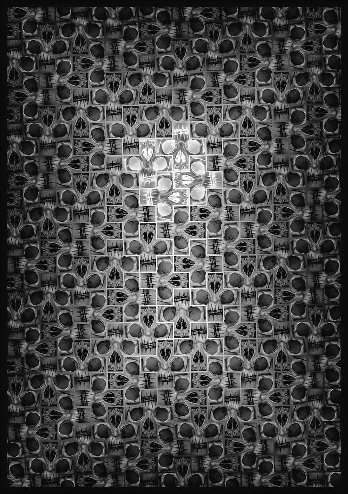 Skull sayagatta Fade 1 inv by TheGoodCross
