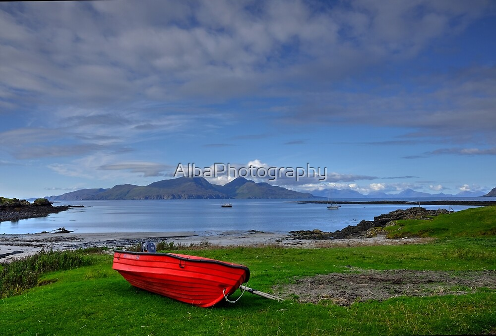 Isle of Rum, Small Isles, Scotland by AlbaPhotography