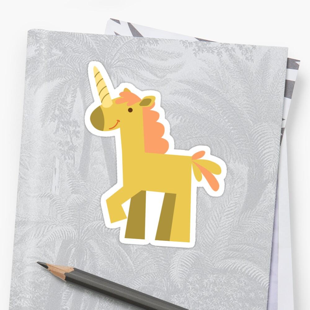 animals set - unicorn by OllegNik
