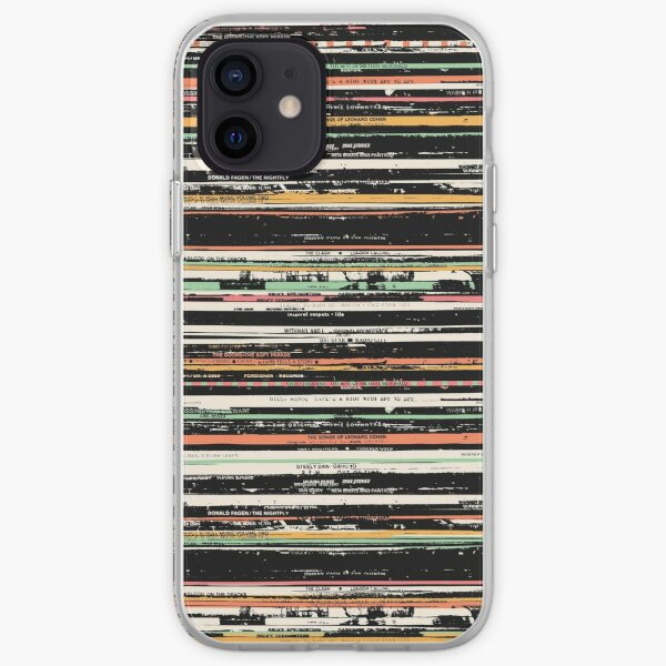 Recordsss iPhone Soft Case