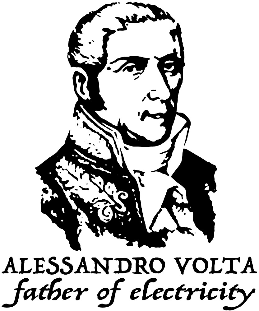 Alessandro Volta father of electricity by MichaelRellov