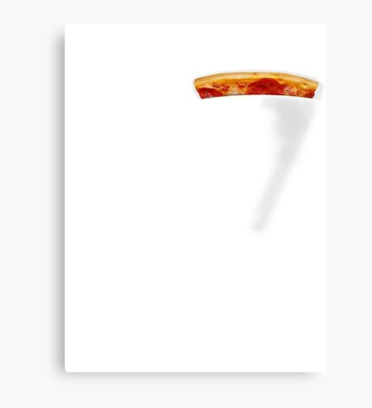 Pizza Pocket Canvas Print