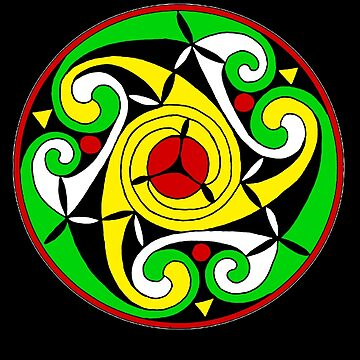 Celtic Spiral  by potty