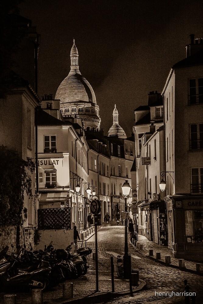 La Rue Norvins by henryharrison