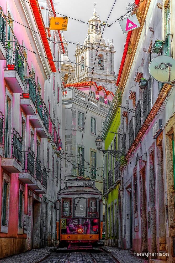 Lisbon Streets by henryharrison