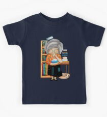 The Little Librarian Kids Tee