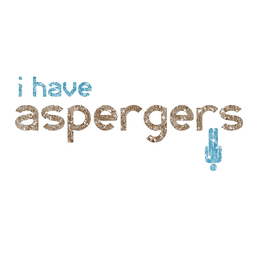I have Aspergers - Autistic Man ASD by crayonista