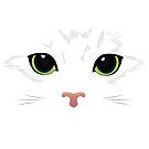 Piercing Cat Eyes by Andreea Butiu