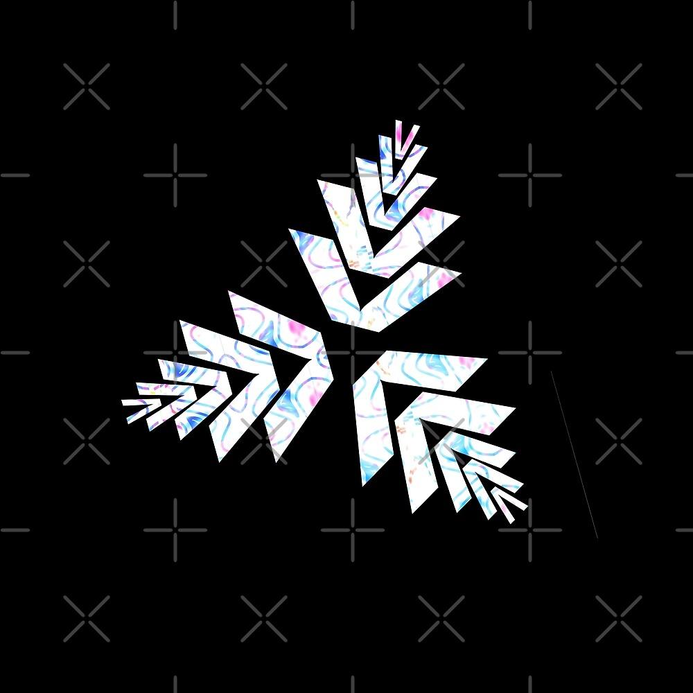Geometric Triad Tattoo Design by Daniel Ward