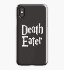 Death Eater vintage style logo iPhone Case/Skin