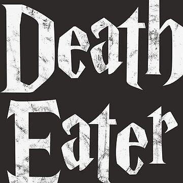 Death Eater vintage style logo by MediaBee