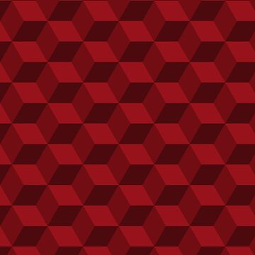 SEAMLESS RED PATTERN by foxandbear