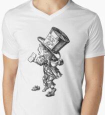 Mad Hatter - Alice in Wonderland Men's V-Neck T-Shirt